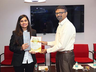 Raveena Best  campus Enterpreneur