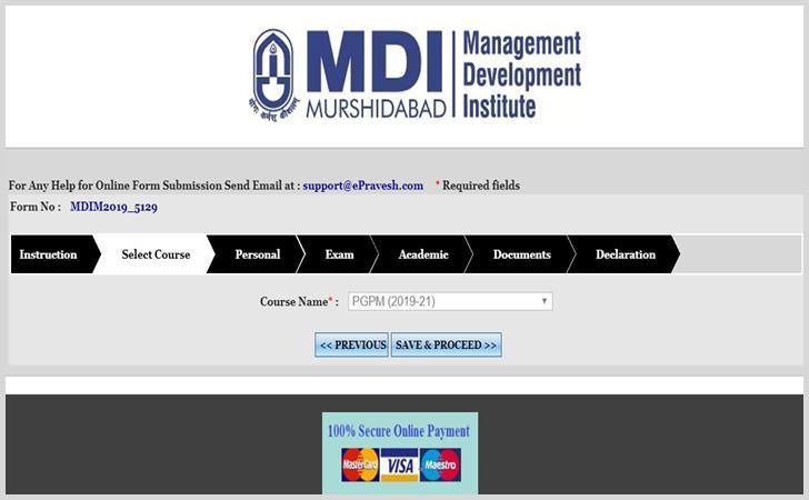 MDI Murshidabad Admission Process2