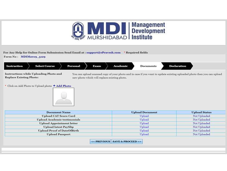 MDI Murshidabad Admission Process6